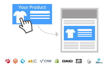1 Click Product Transfer