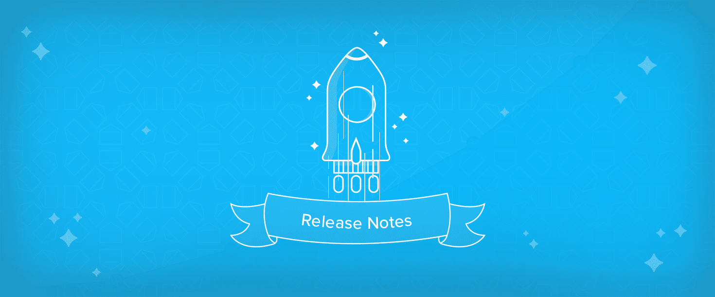 Release notes newsletter software